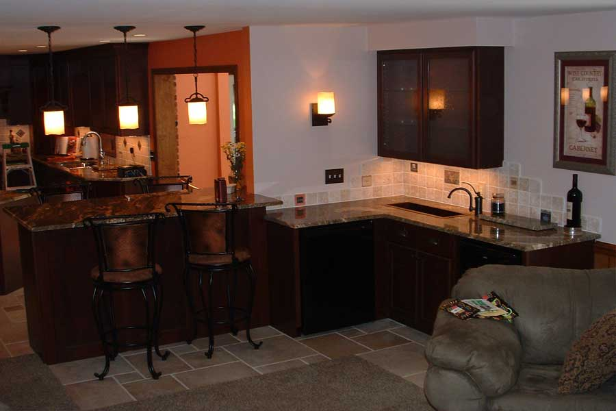 Wet Bar Projects | Kitchen Solution Company | 330-482-1321